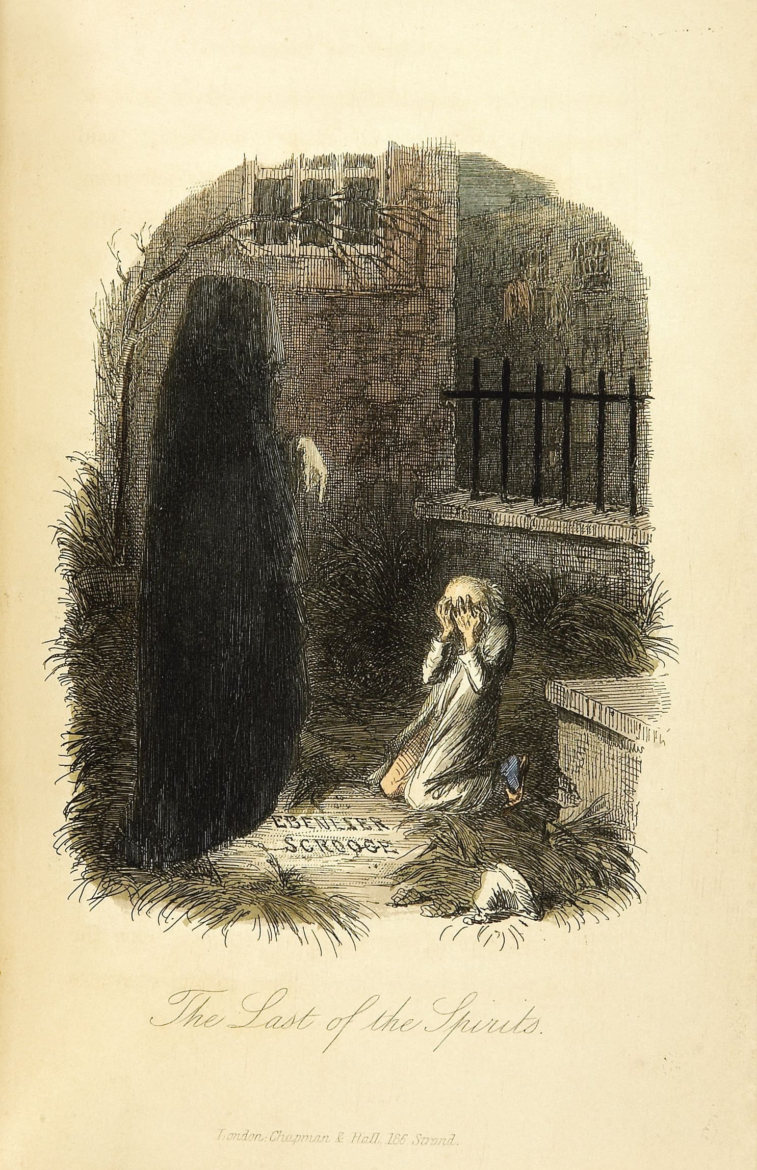 "Illustration by John Leech from the first edition of ""A Christmas Carol"""